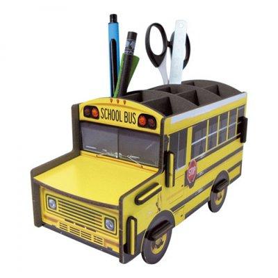 Werkhaus Pen Box Schoolbus