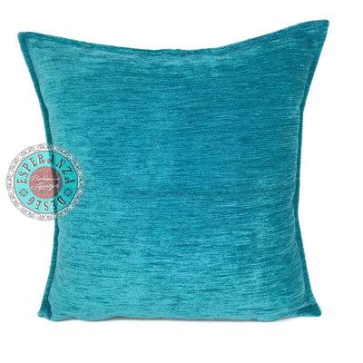 Esperanza Deseo Turquoise kussen ± 45x45cm