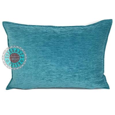 Esperanza Deseo Turquoise kussen ± 50x70cm