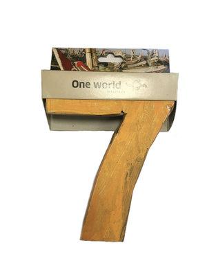 One World Interiors Houten Cijfer 7