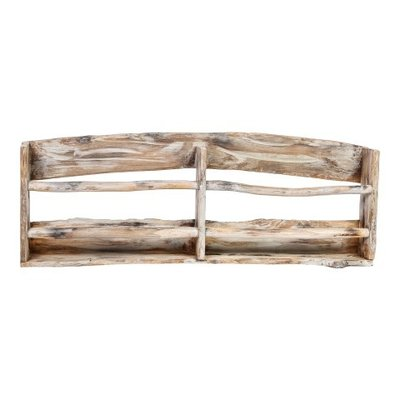 PTMD Tirta wood natural hanging Magazine rack