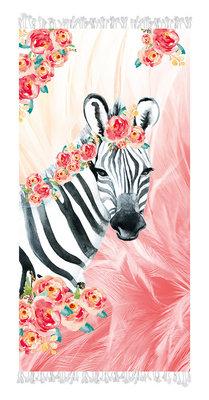 Aqua-licious Hamamdoek Zebra Boho