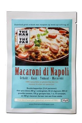The Man With The Pan Spice Blend Kruidenmix Macaroni di Napoli
