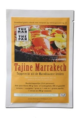 The Man With The Pan Spice Blend Kruidenmix Tajine Marrakech