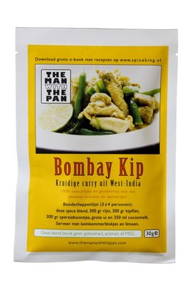 The Man With The Pan Spice Blend Kruidenmix Bombay Curry