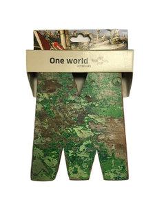 One World Interiors Houten Letter M