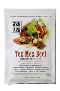The Man With The Pan Spice Blend Kruidenmix Tex Mex