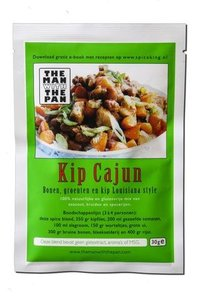 The Man With The Pan Spice Blend Kruidenmix Cajun Chicken